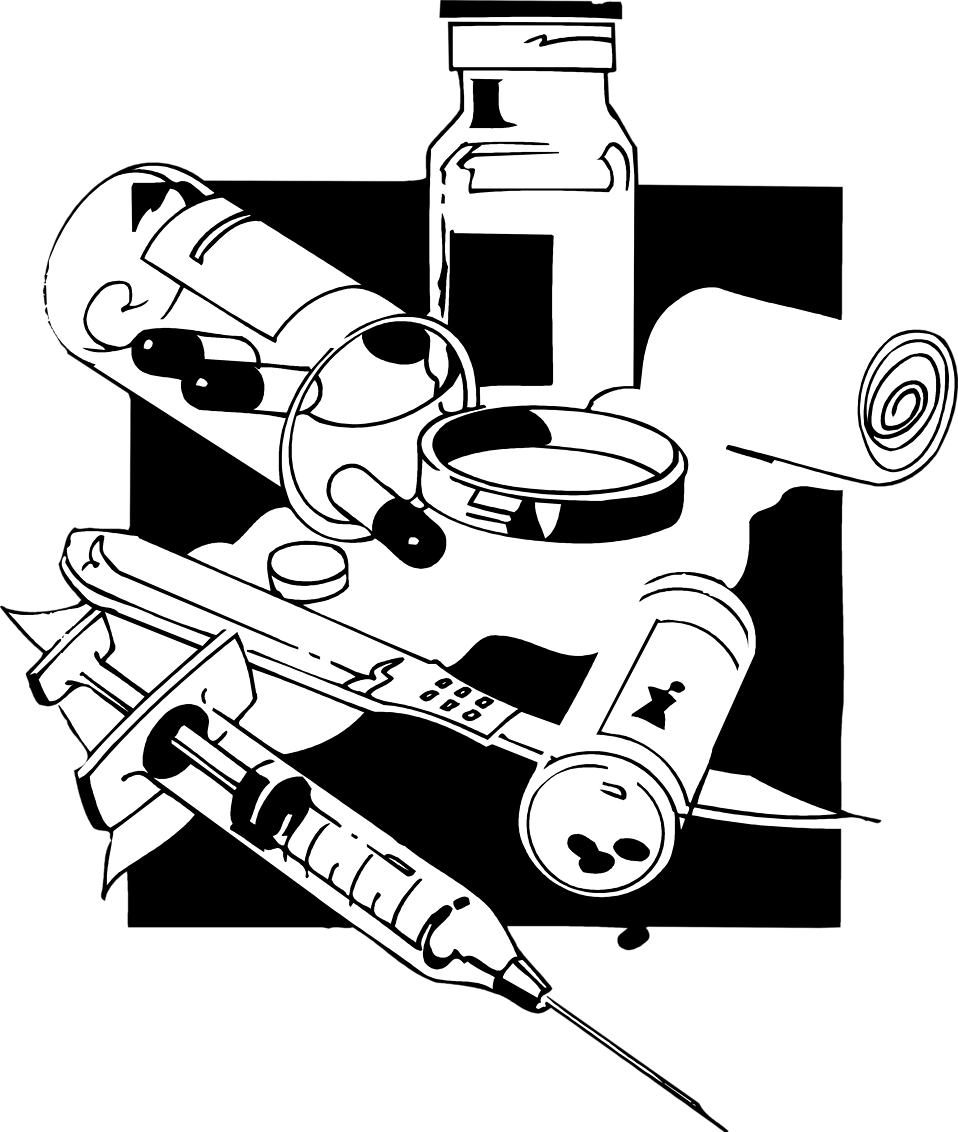 collection of drugs. Syringe clipart prescription medicine