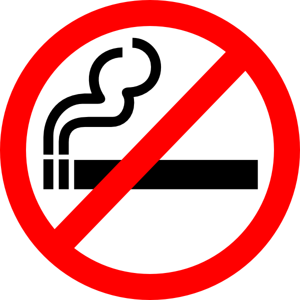 Drugs clipart sign. No smoking clip art