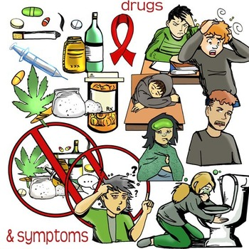Say no to anti. Drugs clipart