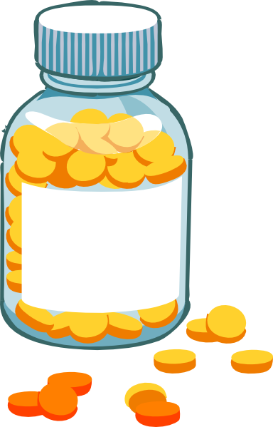 Drugs clipart cute. Free pill bottle cliparts