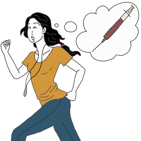 Dreaming of needles meaning. Syringe clipart iv drip