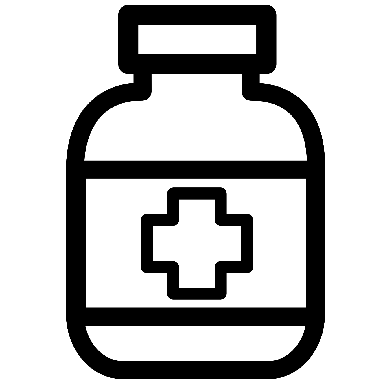 medication clipart black and white