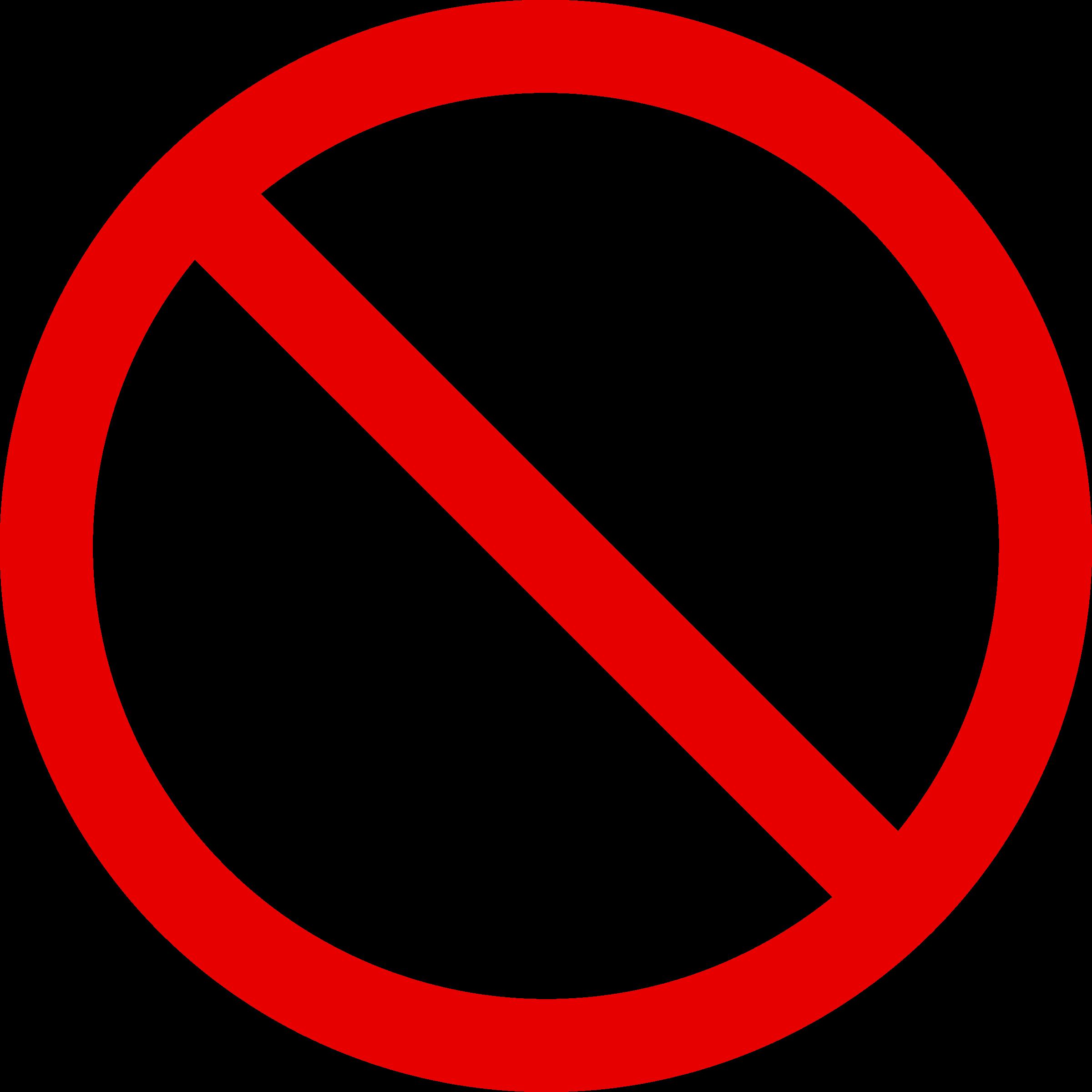 Drugs clipart sign. No smoking big image