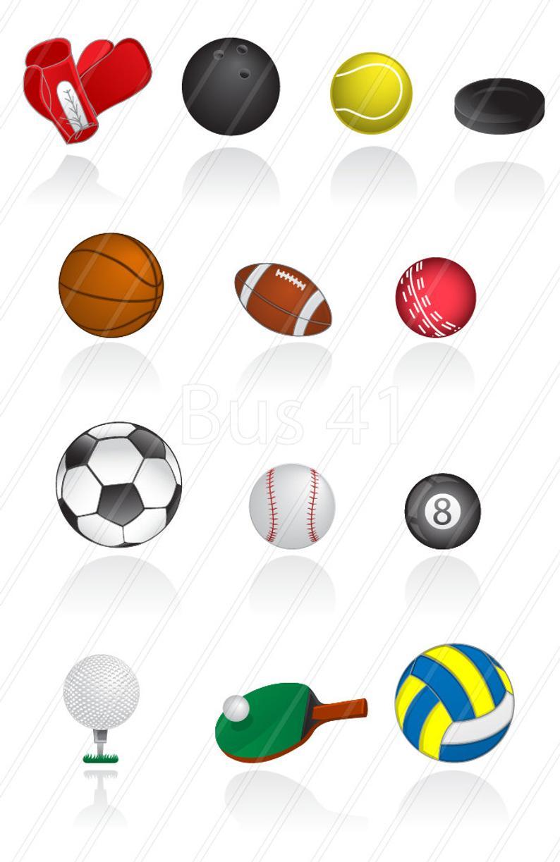 Sports clip art balls. Drugs clipart sport