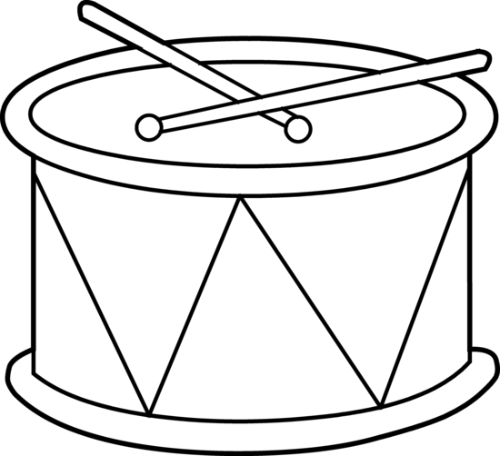 Drum clipart. By hallow graphics art