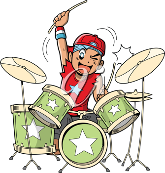 Drums clipart drum beat. Royalty free image of
