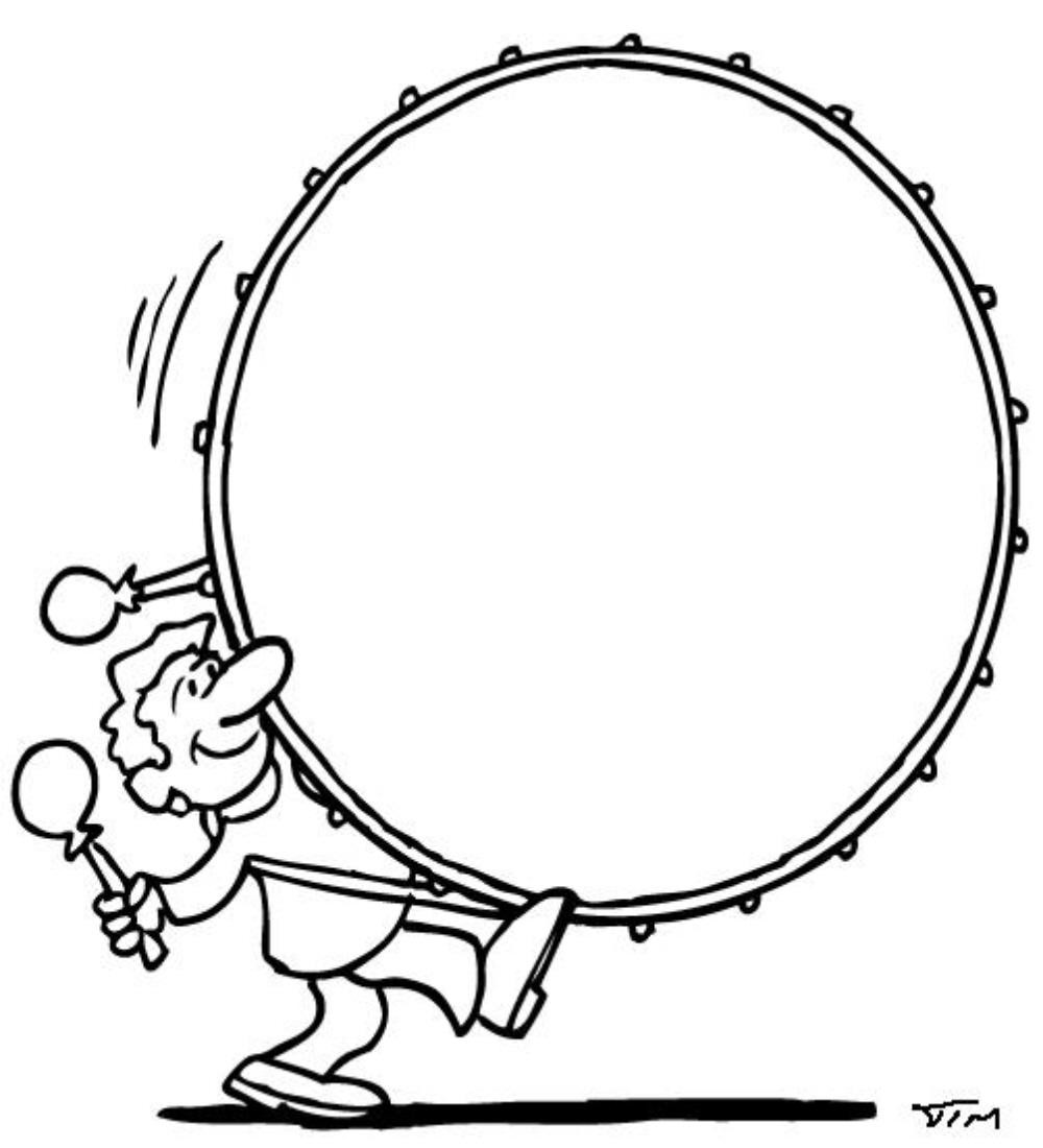 Drum clipart big drum. Bass clip art