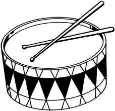 Free cliparts download clip. Drum clipart black and white