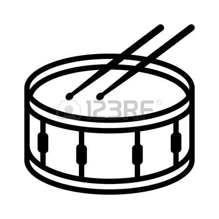 Drums free download best. Drum clipart black and white