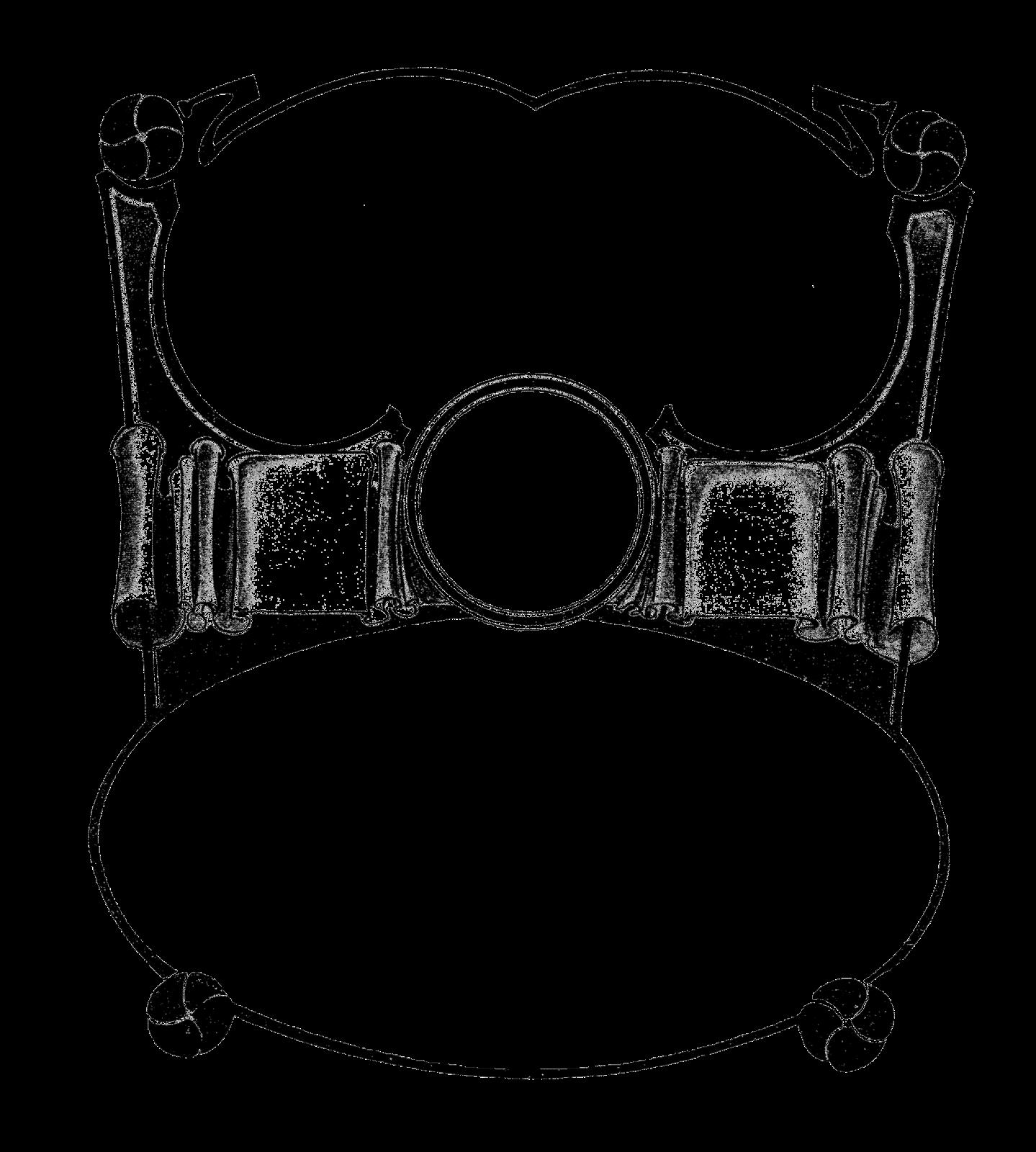 Drums clipart border. Digital stamp design decorative