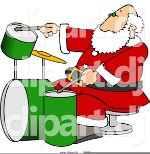 Free images at clker. Drum clipart christmas