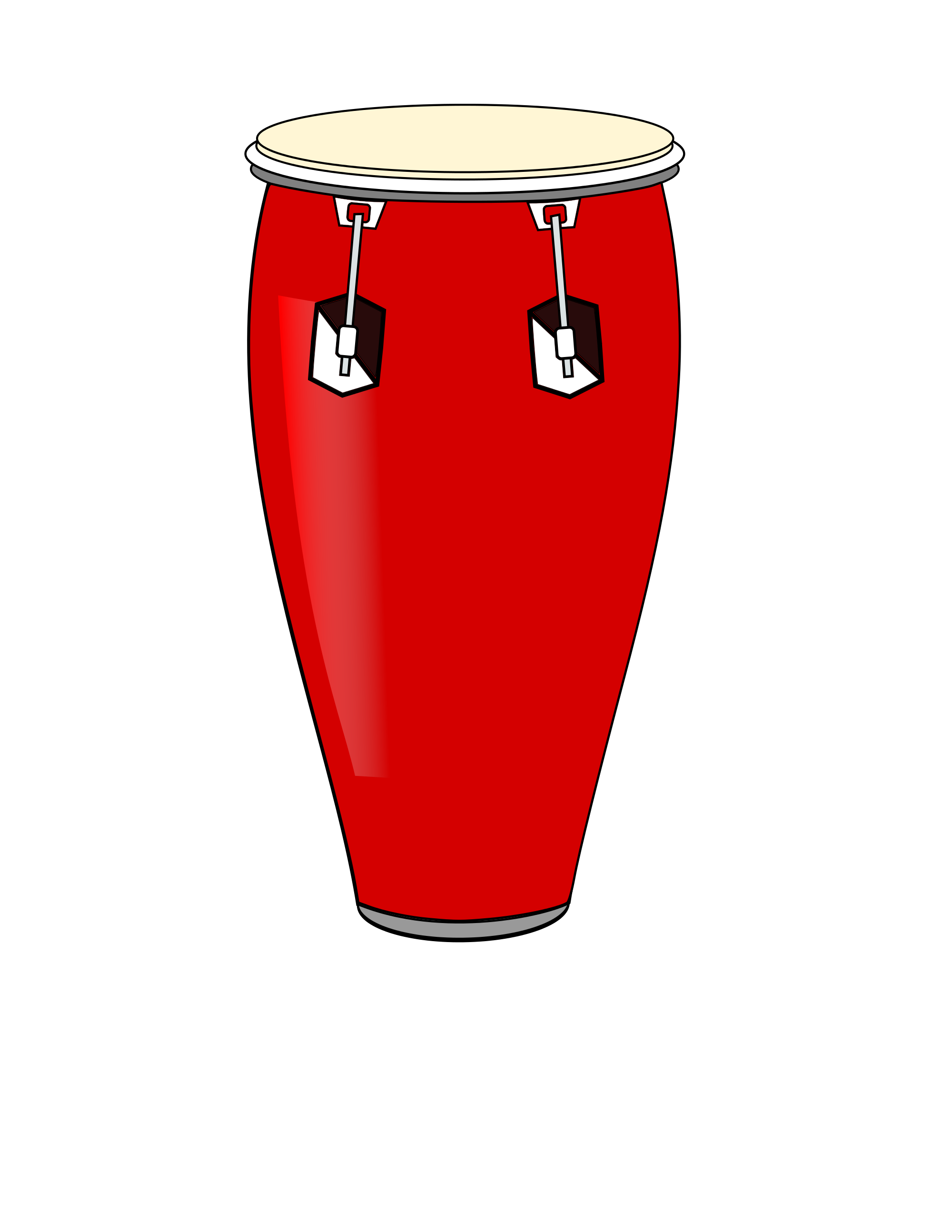 drums clipart conga