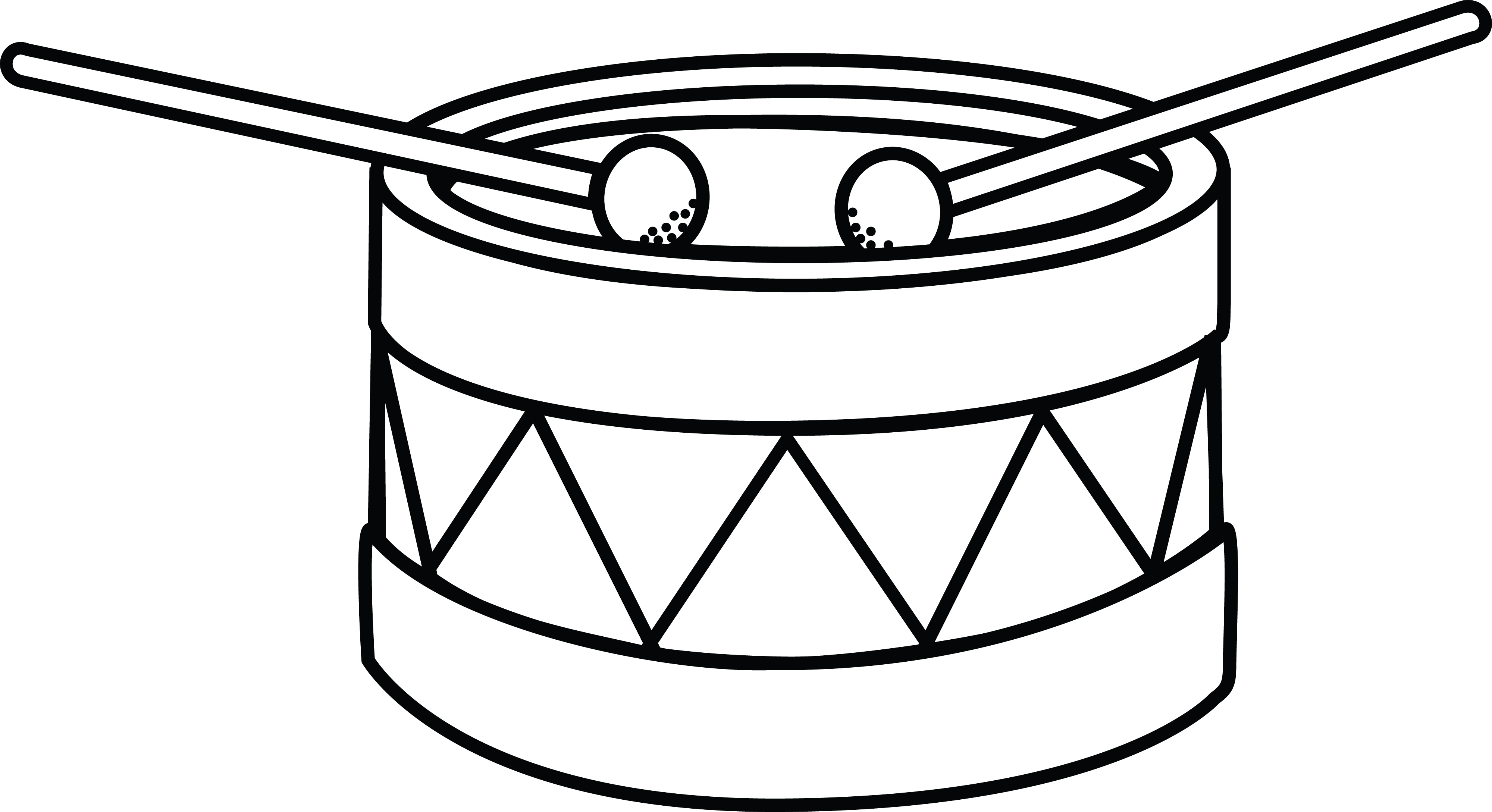 Snare drum sketch at. Drums clipart file