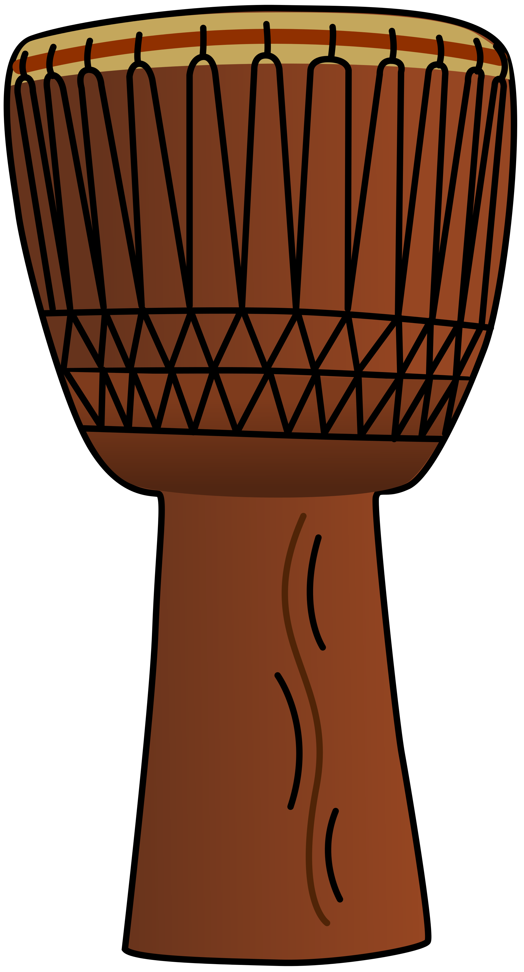 Hands clipart drumming. File african drum svg