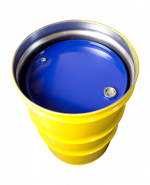 Steel drums containers salvage. Drum clipart drum container
