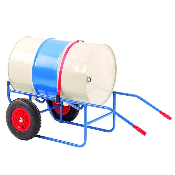Trolley pouring stand trucks. Drum clipart drum container