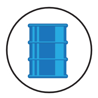 Industrial containers bronstein co. Drum clipart drum container