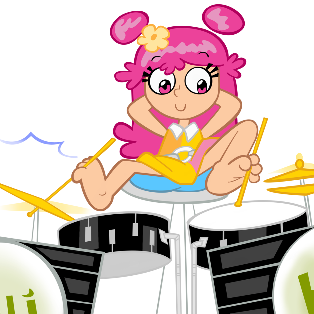 Feet clipart one foot. Ami playing the drums