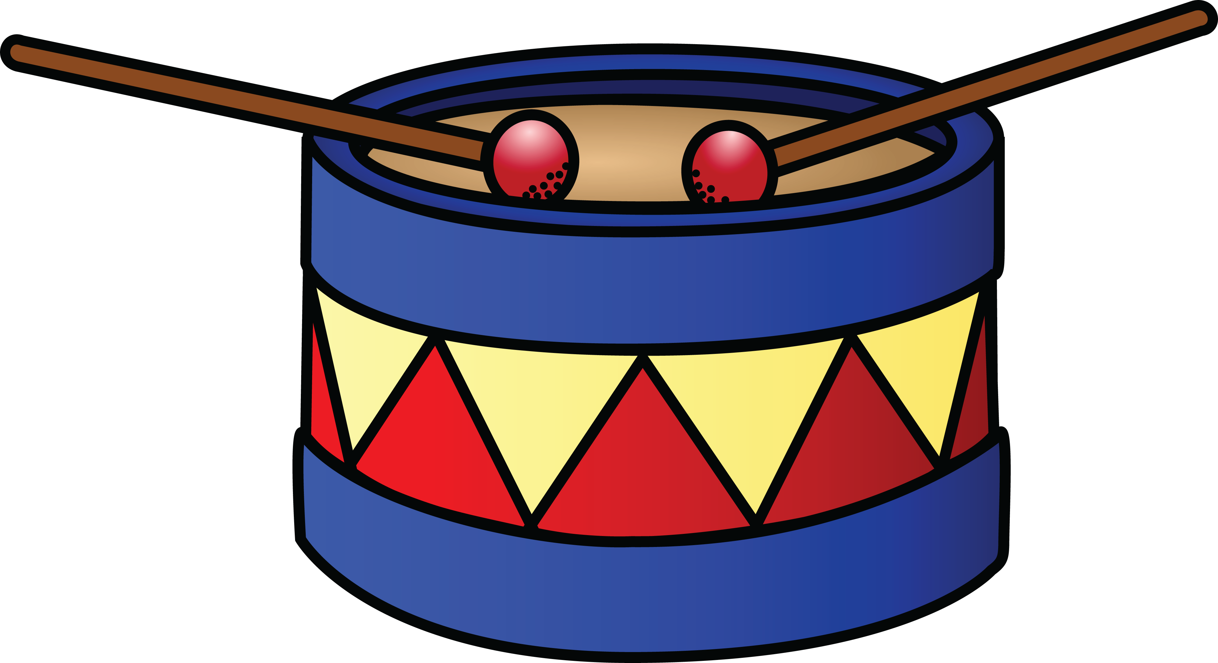 collection of drum. Hand clipart drumming