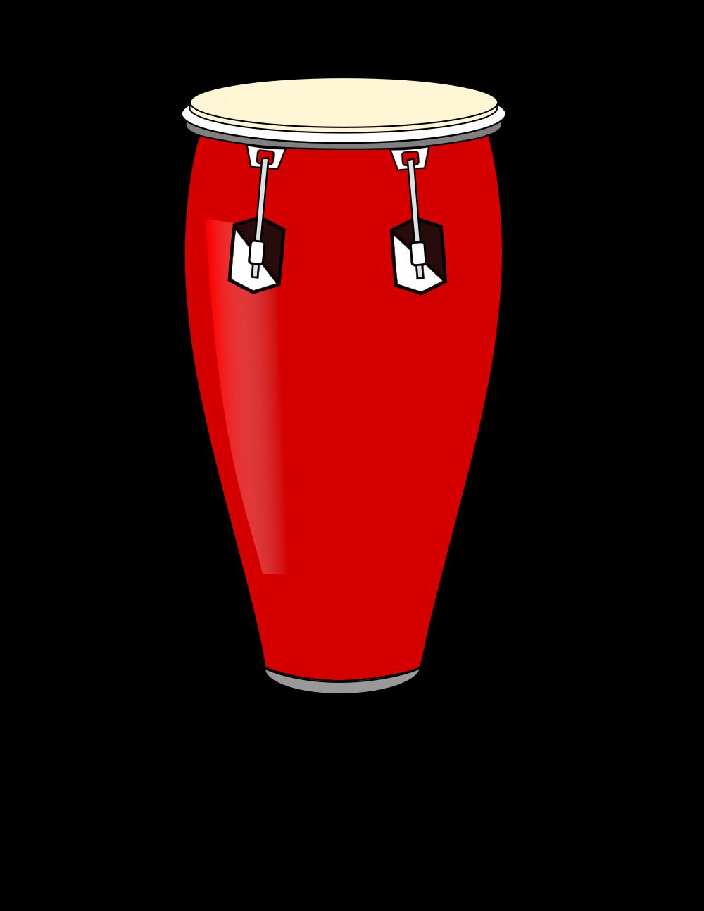 File conga svg wikimedia. Drum clipart drums bongo