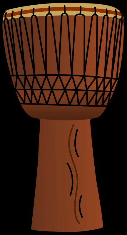 Drum clipart drums bongo. Files africandrum