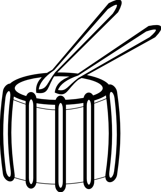 Drum clipart loud sound.  collection of sounds