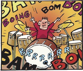 Drum clipart loud sound. The secret aural life