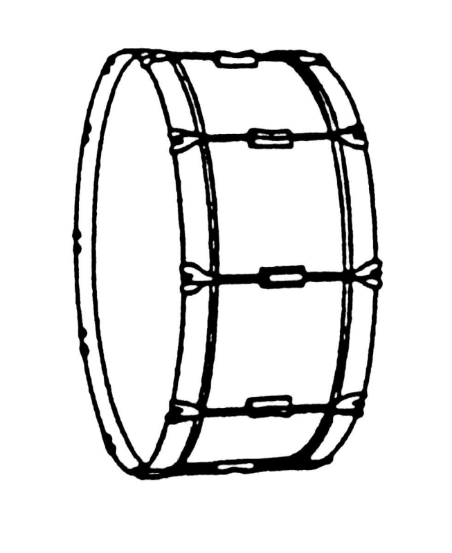 snare percussion clip. Drums clipart marching band drum