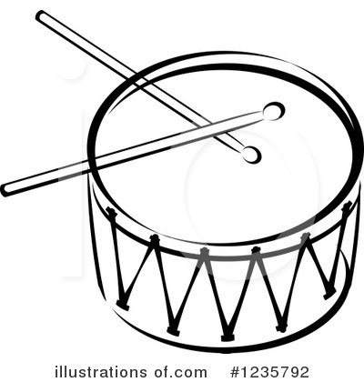 Drums clipart musical instrument. Instruments black and white