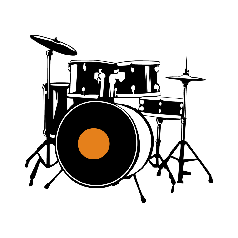 drums clipart vocal music
