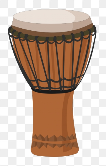 Drum clipart music equipment. African png vector psd