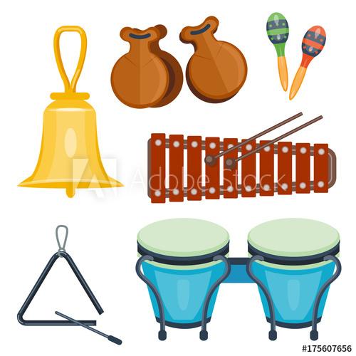 Musical wood music series. Drum clipart rhythm instrument
