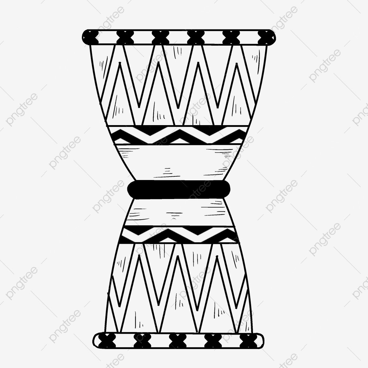Drums clipart rhythm instrument. Line drawing traditional