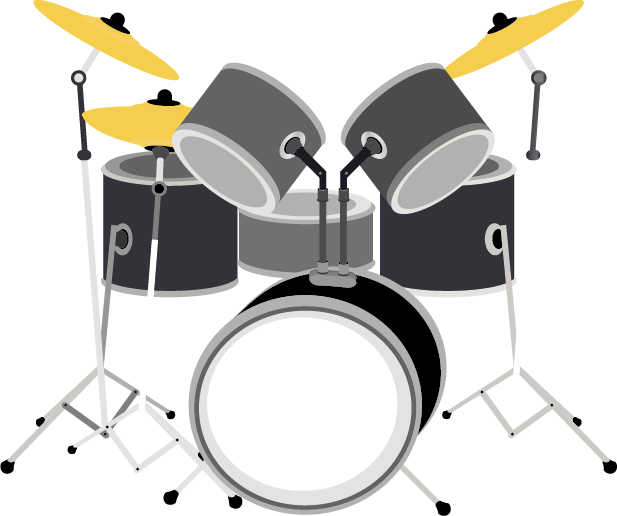 Drums clipart drum chinese. Musical instrument microphone rock