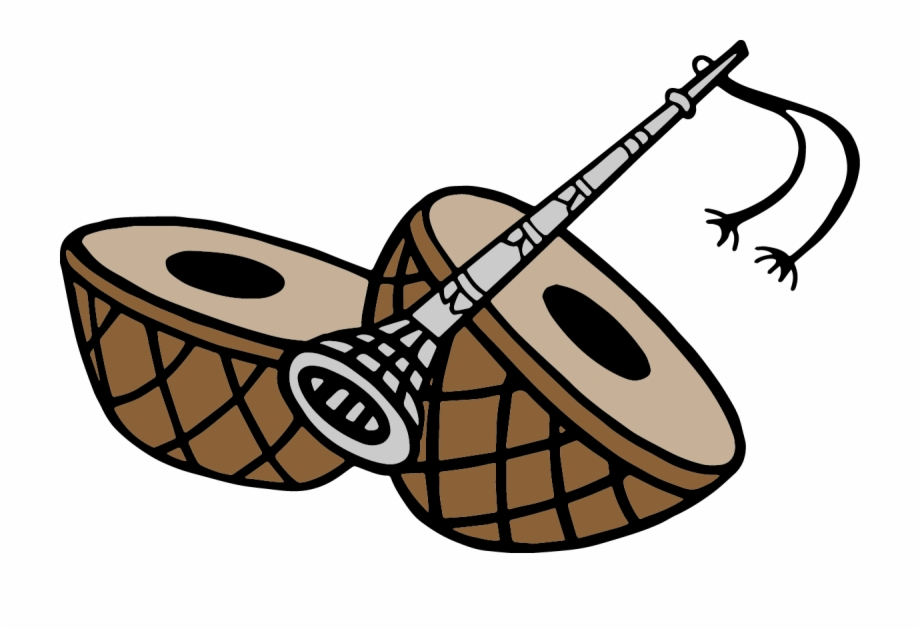 Drums clipart wedding. Drum sangeet card logo