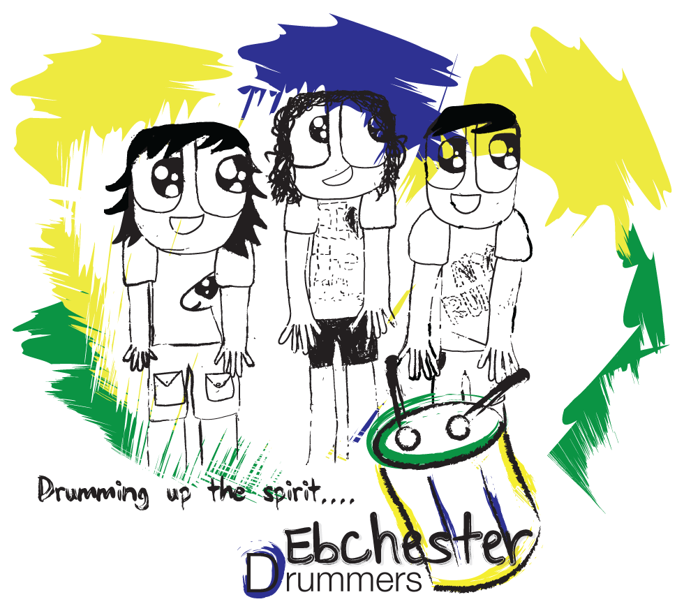 Ebchester org drummers we. Drums clipart rhythmic
