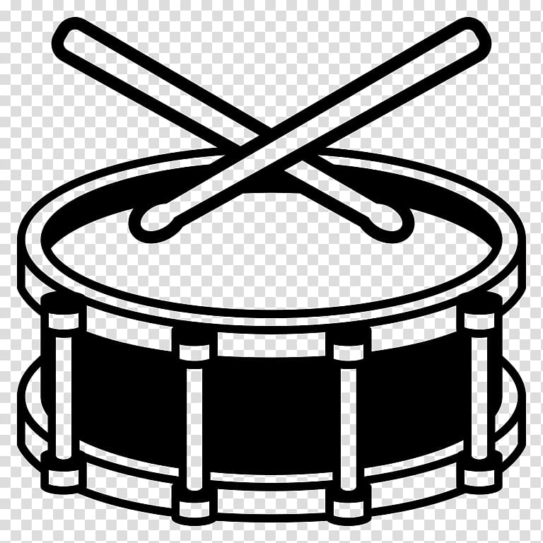 Snare emoji musical instruments. Drums clipart insturments