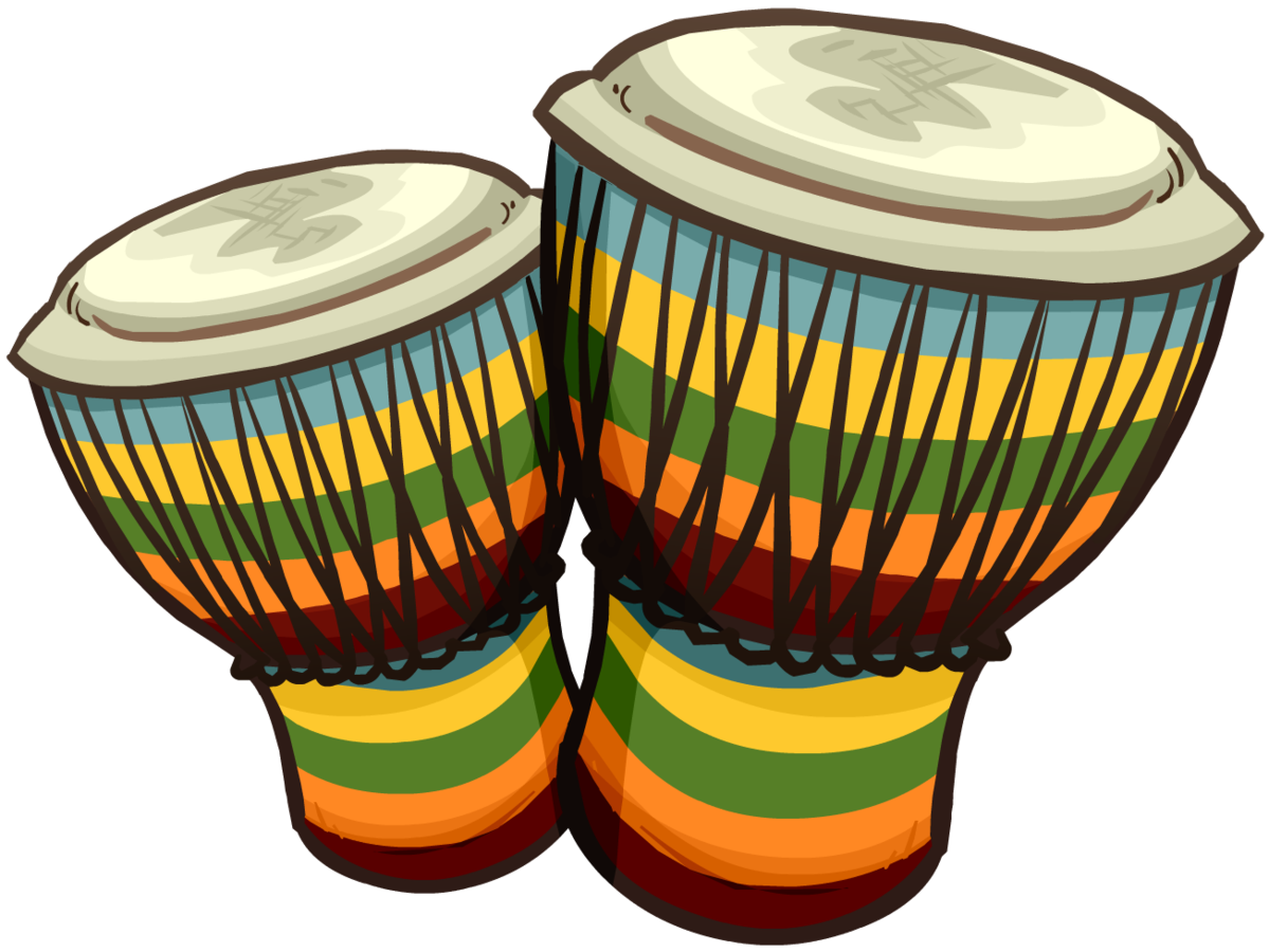 Bongo conga djembe clip. Drum clipart tambor