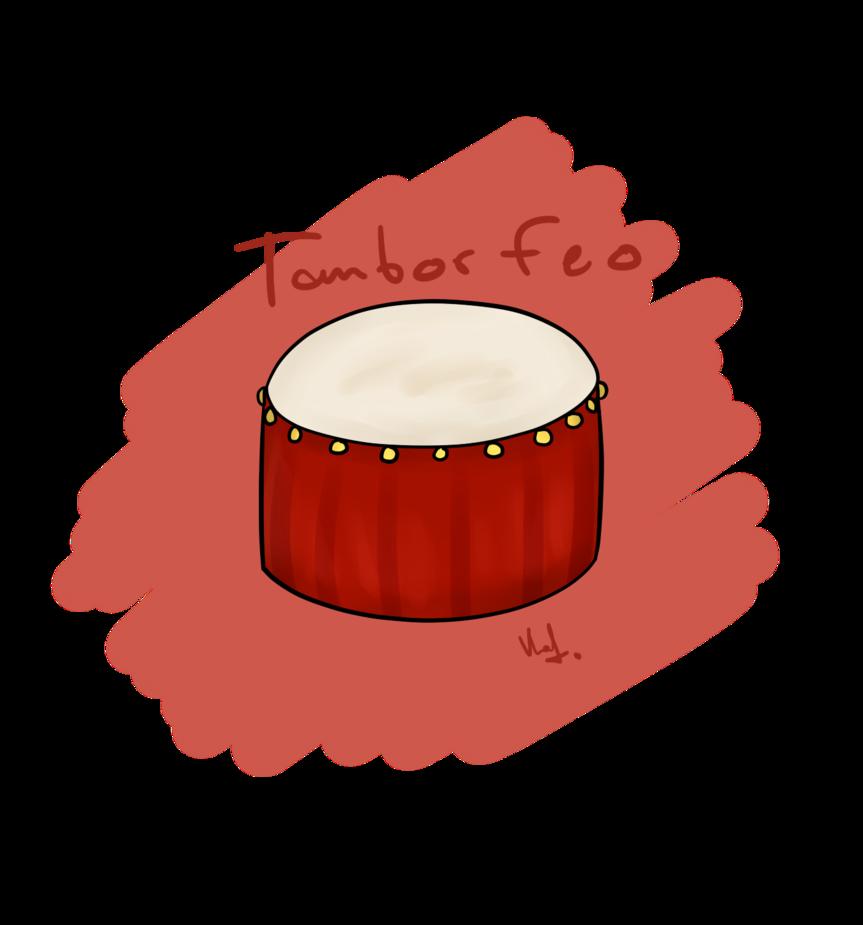 By valuunwn on deviantart. Drum clipart tambor