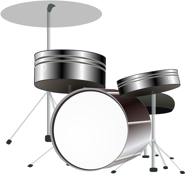 Drum clipart tambour. Overhead microphone solution on