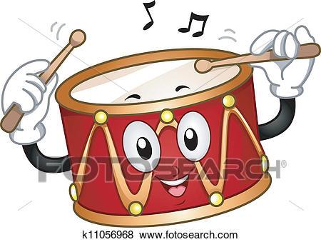 Drum clipart tambour. Portal