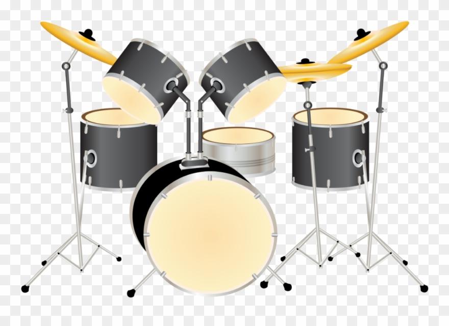 Drums clipart transparent background. Drum kit png clip
