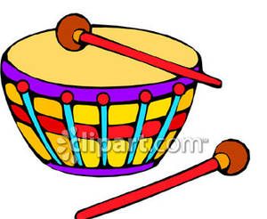 Drum clipart toy drum. A royalty free picture