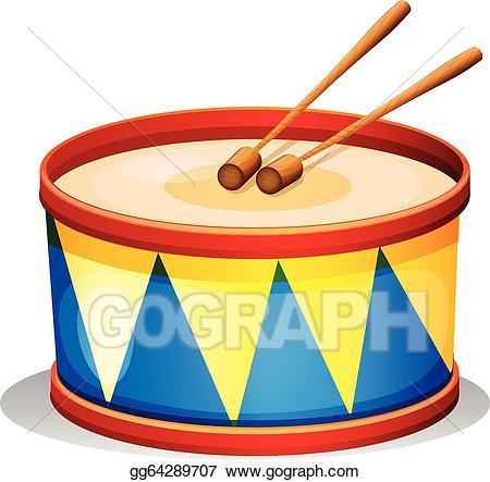 Drum clipart toy drum. Clip art vector a