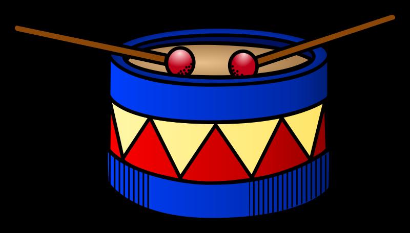 Drum clipart toy drum. Coloured medium image png