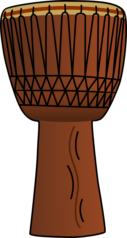 African clip free to. Drums clipart traditional drum