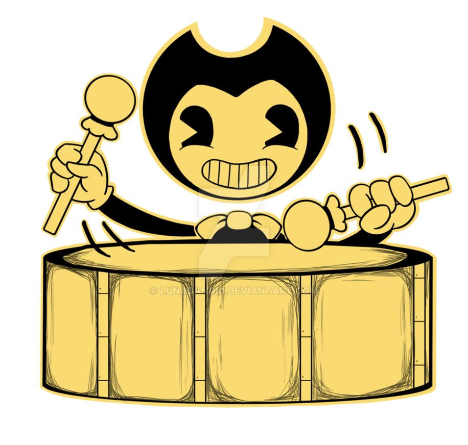 Bendy by lunabandid on. Drums clipart traditional drum