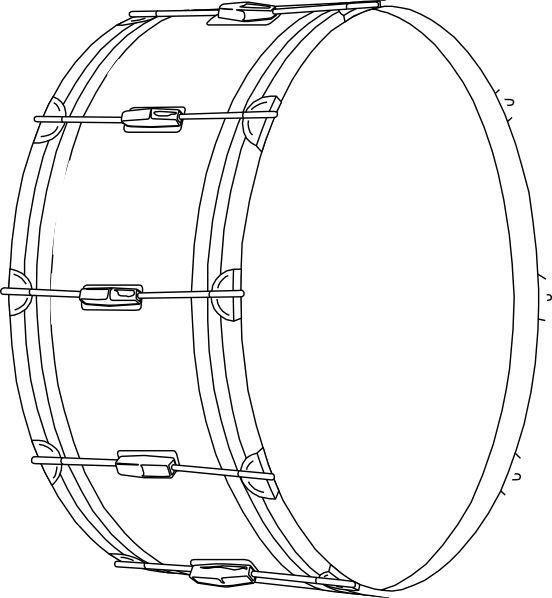 Drums clip art at. Hand clipart drumming