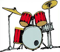 Drums clipart. Free drum