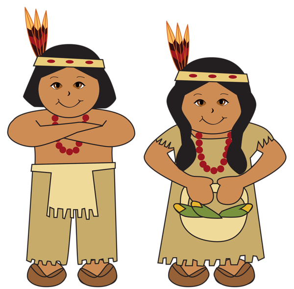 Native Americans PNG Clipart Picture